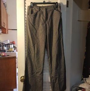 Gray suit pants